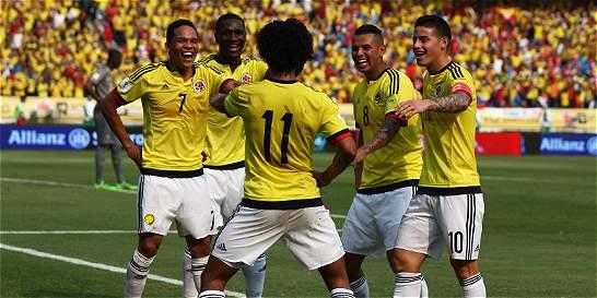 Colombia venció 3-1 a Ecuador y se encarriló rumbo a Rusia-2018