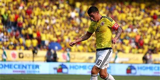 'Cuando uno juega y tiene apoyo es más fácil': James Rodríguez