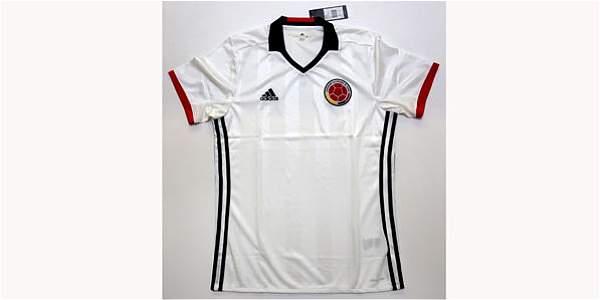 La camiseta blanca solo se usará en la Copa América Centenario.
