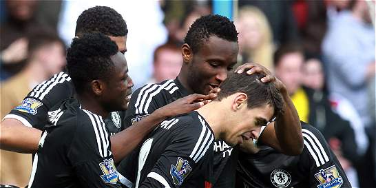 Falcao fue suplente en la victoria de Chelsea sobre Aston Villa