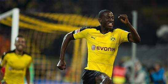 Adrián Ramos anotó y le dio el triunfo al Dortmund sobre Werder Bremen