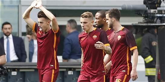 Roma goleó 4-1 a Lazio en el derbi de la capital italiana