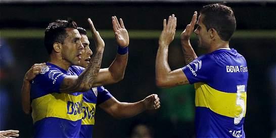 Boca Juniors venció 3-1 a Bolívar y está cerca de la clasificación
