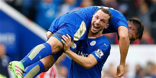 Leicester, a seis partidos de ganar la Premier League
