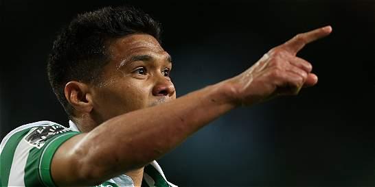 Gol de Teófilo en la victoria 3-1 de Sporting contra Marítimo