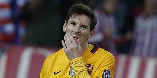 Messi completó cinco partidos sin hacer gol; no pasaba desde 2010