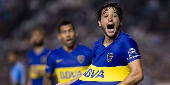 Boca derrotó 1-0 a Racing y complicó a Cali en la Libertadores