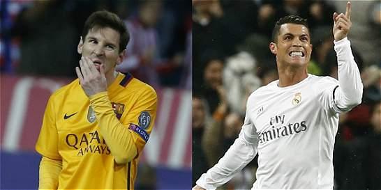 Messi no apareció; Cristiano sí brilló en la Liga de Campeones