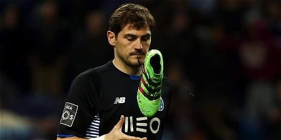 'Me alegro de que el Real Madrid esté cerca en la Liga': Casillas
