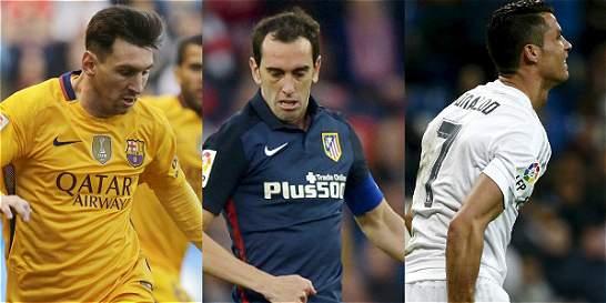 Barcelona, Atlético y Real Madrid siguen su mano a mano en España