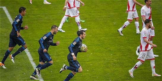 Con doblete de Bale, Real Madrid venció 2-3 al Rayo Vallecano
