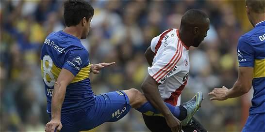 Boca, con 10 hombres gran parte del clásico, empató 0-0 contra River