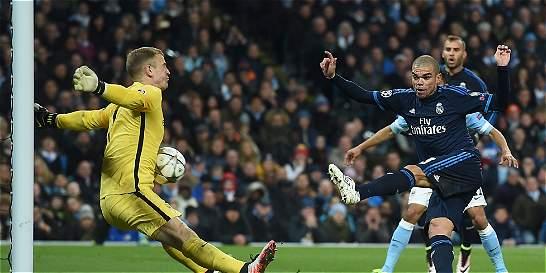 Empate 0-0 entre M. City y Real Madrid en semifinales de la Champions