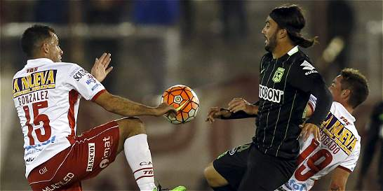 Nacional no pudo con Huracán y empataron 0-0 en la Libertadores