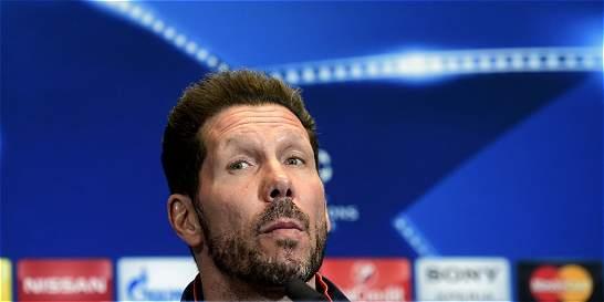 Simeone, sancionado con tres partidos en la Liga de España