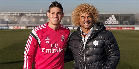 'James es un jugador que no le gusta a Zidane': 'Pibe' Valderrama