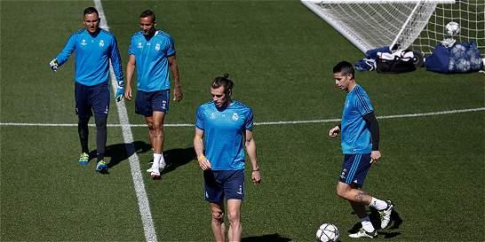 James, entre los convocados del Real Madrid para Champions