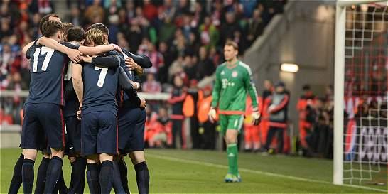 Atlético de Madrid amplió su hazaña y es finalista de la Champions
