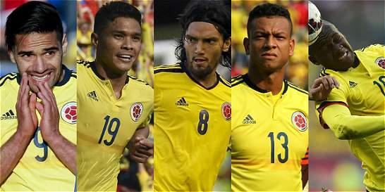 Los ausentes de la lista preliminar de Colombia para la Copa América