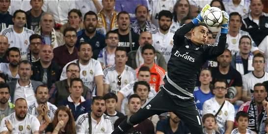 Keylor Navas, un muro en la portería del Real Madrid Madrid