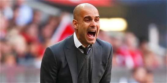 Guardiola arremetió contra equipo el médico del B. Múnich