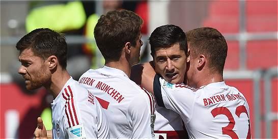 Bayern Múnich conquistó su cuarta Bundesliga consecutiva