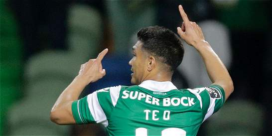 Teófilo aportó un tanto en la goleada 5-0 de Sporting contra Setúbal