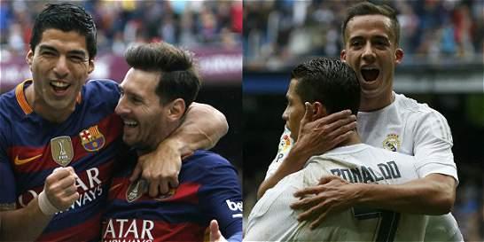 Barça y Madrid se juegan por séptima vez el título en la última fecha