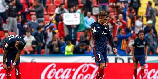 Atlético de Madrid se quedó sin luchar por la Liga ni récords