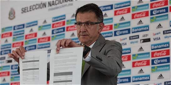 Osorio citó a nueve europeos de México para la Copa América Centenario