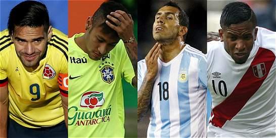 Los grandes ausentes de la Copa América Centenario