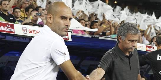 El fútbol tiembla ante probable cara a cara Mou vs. Pep en Manchester