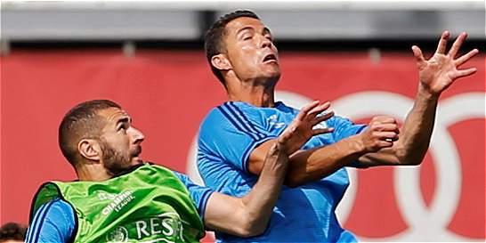 Cristiano entrenó con normalidad y da tranquilidad a Real Madrid