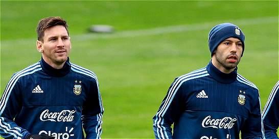Messi y Mascherano se unieron a los entrenamientos de Argentina