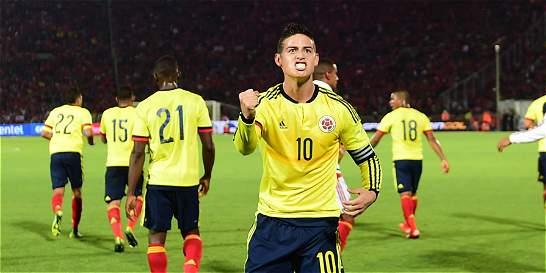 James Rodríguez, el guía de Colombia en la Copa América Centenario