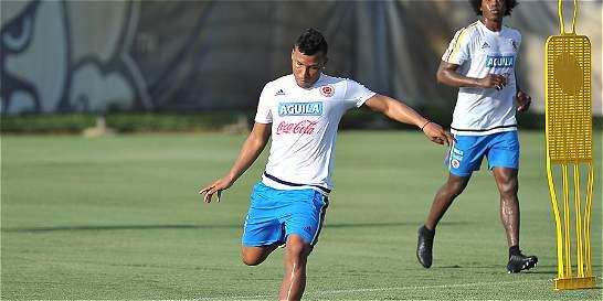 Colombia se alista para enfrentar a la selección de Haití