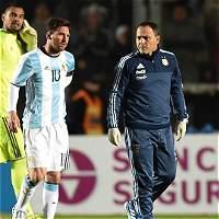Lionel Messi 'está mejor', según el cuerpo médico de Argentina