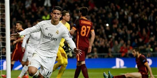 El aporte de James en la decimoprimera Champions del Real Madrid