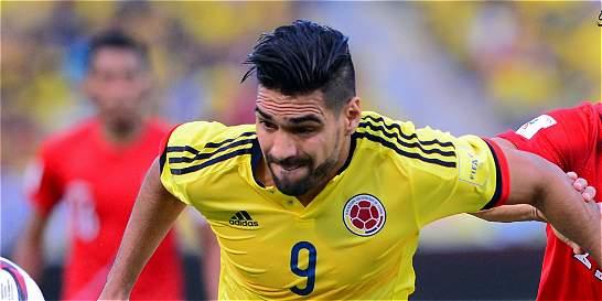 Falcao acompañó a la Selección Colombia previo al juego con Costa Rica