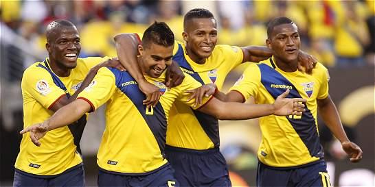 Ecuador venció 4-0 a Haití y avanzó a los cuartos de la Copa
