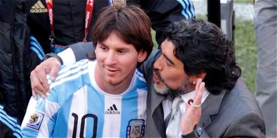 'No podemos obligar a Messi a ser líder': Maradona