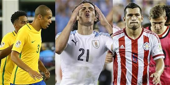 El fracaso en la Copa América de tres potencias