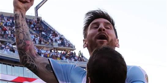 Lionel Messi igualó a Batistuta como máximo goleador de Argentina