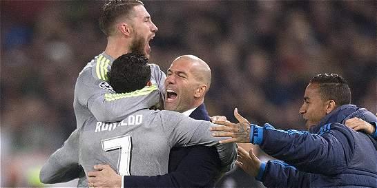 El gol de Cristiano Ronaldo a AS Roma, el mejor de la temporada