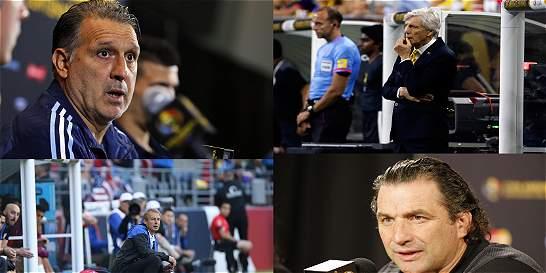 Cuatro técnicos buscan la gloria por primera vez en la Copa América