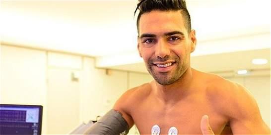 Falcao ya está en Mónaco y presentó sus exámenes médicos