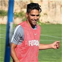Radamel Falcao realizó su primer entrenamiento con Mónaco