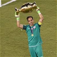 'Chile se siente como un equipo grande': Claudio Bravo