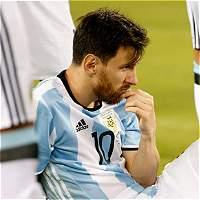 'Creo que ya está para mí la selección, ya se terminó': Messi