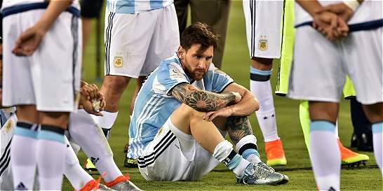 Lágrimas y la renuncia de Messi: lo que se vivió después del partido